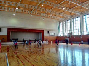 南箕輪小学校体育館